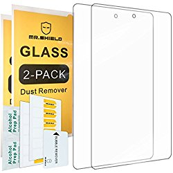 [2-PACK]-Mr Shield For Amazon New – Fire Tablet 7″ 7 Inch (5th Generation – 2015 Release) [Tempered Glass] Screen Protector with Lifetime Replacement Warranty