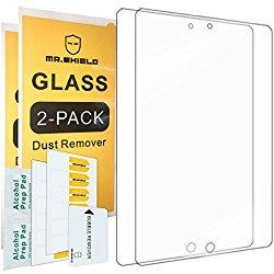 [2-PACK]-Mr Shield For iPad Mini / iPad Mini 2 / iPad Mini 3 with Retina Display [Tempered Glass] Screen Protector with Lifetime Replacement Warranty