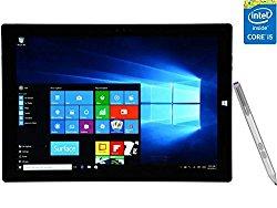 2016 Newest Microsoft Surface Pro 3 12-Inch Tablet PC, Intel Core i5 Processor, 8GB RAM, 256GB SSD Storage, Windows 10 Professional
