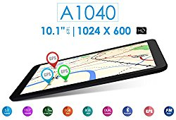 Azpen A1040 10.1″ Quad Core 8GB Android Tablet with Bluetooth GPS HDMI Dual Cameras