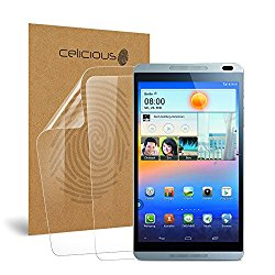 Celicious Vivid Huawei MediaPad M1 8.0 Crystal Clear Screen Protector [Pack of 2]
