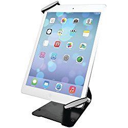 CTA Digital Universal Anti-Theft Security Grip with POS Stand for Tablets – iPad Air 2, iPad mini 4, Galaxy Tab, Note 10.1, 7-10-inch Tablets (PAD-UATGS)