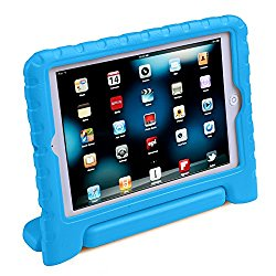 HDE iPad Mini Kids Case Shockproof Handle Stand Cover for Apple iPad Mini 2/3 Retina (Blue)