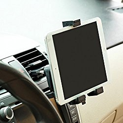 High Quality Car Mount Tablet Air Vent Holder Dock for Samsung Galaxy Tab S 10.5, 8.4 – Galaxy Tab A, Tab S2 8.0, 9.7 – Galaxy Tab 4 7.0, 8.0, 10.1 SM-T530 – Tab PRO 10.1 SM-T520