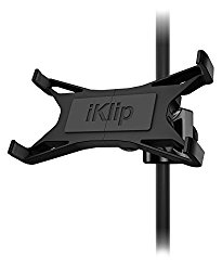 IK Multimedia iKlip Xpand universal mic stand support for iPad and tablets
