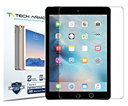 iPad Air Screen Protector, Tech Armor High Definition HD-Clear Apple iPad Air / Air 2 Film Screen Protector [2-Pack]