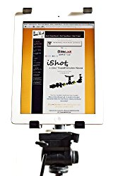 iPad Mini 1/2/3/4 Retina Tripod Mount – G5 Pro By iShot Mounts — Adapter – Holder – Attachment – Made in the U.s.a – Free Window Mount Included – NEW VERSION