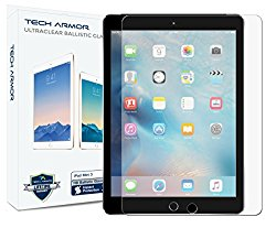 iPad Mini Glass Screen Protector, Tech Armor Premium Ballistic Glass Apple iPad Mini 1 / 2 / 3 Screen Protectors [1]