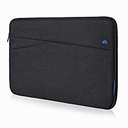 iPad Pro/ iPad Air 9.7 Case Sleeve, Tomtoc 9.7 inch iPad Pro/ iPad Air 2 Sleeve Carrying Case Cover Protective Bag with Accessory Pockets, Black