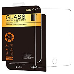 iPad Pro Screen Protector,[9.7 inch]by Ailun,Tempered Glass,9H Hardness,[Apple Pencil Compatible]Ultra Clear,Bubble Free,Anti-Scratch&Shatter&Fingerprint&Oil Stain,Case Friendly-Siania Retail Package