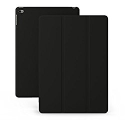 KHOMO iPad Mini 4 Case – DUAL Series – Ultra Slim Black Cover with Auto Sleep Wake Feature for Apple iPad Mini 4th Generation Tablet