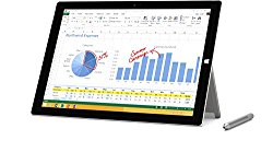 Microsoft Surface Pro 3 512 GB, Intel Core i7, Windows 8.1 – with Windows 10 Upgrade