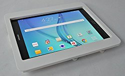 Samsung Galaxy TAB A 10.1 Security Anti-Theft Kit for Kiosk, POS, Store, Show Display (White Wall Mount)