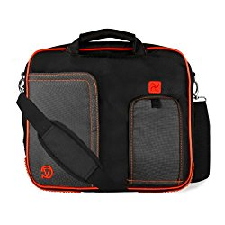 VanGoddy Lava Red Messenger Bag Suitable for Suitable for LG G Pad Tablets 10″ – 11.6inch