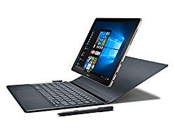 "Samsung Galaxy Book 12"" Windows 2-in-1 PC (Wi-Fi) Silver, 8GB RAM/256GB SSD, SM-W720NZKAXAR"