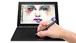 Lenovo Yoga Book – FHD 10.1″ Windows Tablet – 2 in 1 Tablet (Intel Atom x5-Z8550 Processor, 4GB RAM, 64GB SSD), Black, ZA150000US
