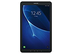 New Samsung Galaxy Tab E SM-T377A 8″ 16GB 4G+WiFi LTE GSM Unlocked Tablet (Black)
