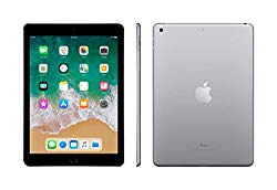 Apple iPad with WiFi, 128GB, Space Gray (2018 Model)