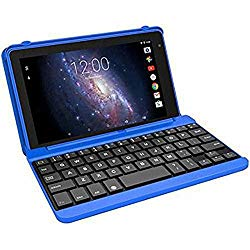 Premium High Performance RCA Voyager Pro 7″ 16GB Touchscreen Tablet With Keyboard Case Computer Quad-Core 1.2Ghz Processor 1G Memory 16GB Hard Drive Webcam Wifi Bluetooth Android 6.0-Blue