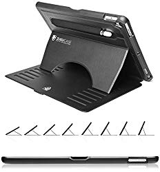 ZUGU CASE – iPad Pro 10.5 inch Case Prodigy X – Very Protective But Thin + Convenient Magnetic Stand + Sleep/Wake Cover for Men & Women (Black)