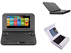 GPD XD Plus [2019 Update] Foldable Handheld Game Consoles 5″ Touchscreen, Android 7.0 Fast Mediatek MT8176 Hexa-core 2.1GHz CPU, 4GB RAM/32GB ROM, 6000mAh Li-ion Battery