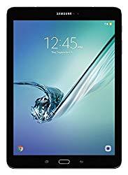 Samsung Galaxy Tab S2 9.7″ HD+ (32GB) Octa-Core Wi-Fi Tablet Book Cover Bundle SM-T813N (US Warranty) (Black w/Book Cover)