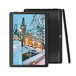 BeyondTab Android Tablet with SIM Card Slot Unlocked 10 inch -10.1″ IPS Screen Octa Core 4GB RAM 64GB ROM 3G Phablet with WiFi GPS Bluetooth Tablet (Black)