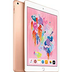 iPad (2018 Latest Model) with Wi-Fi only 32GB Apple 9.7″ iPad MRJN2LL/A Gold (Refurbished)