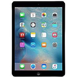 Apple iPad Air MD786LL/A Wi-Fi 32GB, 9.7in – Space Gray (Renewed)