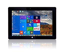 10″ Fusion5 Ultra Slim Windows Tablet PC- (2GB RAM, 64GB Storage, Full Size USB 3.0, Intel Quad-core, Dual Cameras, HDMI, Bluetooth, Windows 10 Home Tablet Computer)