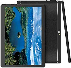 Foren-Tek Android Tablet with SIM Card Slot Unlocked 10 inch -10.1″ IPS Screen Octa Core 4GB RAM 64GB ROM 3G Phablet with WiFi GPS Bluetooth Tablet (Black)