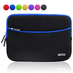 10 10.1 inch Tablet Sleeve Case, Armor Wear 10.1″ Shockproof Sleeve Case with Accessory Pocket for Samsung Galaxy 10-10.5″, IPad 2/3/4,Air,IPad Pro 10.5 Inch,Kindle 10″, Surface 2/3,Lenovo Yoga Tab