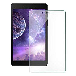 [2 Pack] ZoneFoker Galaxy Tab A 8.0 inch 2019 (SM-T290/SM-T295) Tablet Screen Protector, [Anti-Scratch][Easy Installation][Bubble Free] Tempered Glass for Samsung SM-T290/T295 Tablet (Clear)
