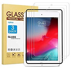 apiker [3 Pack] Screen Protector for iPad Mini 5 2019 / iPad Mini 4, 9H Hardness Tempered Glass Screen Protector with Alignment Frame/High Definition
