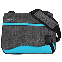 Blue Anti-Theft 10 inch Tablet Messenger Bag for Apple iPad 9.7 10.2, Air 10.5, Pro 10.5 11