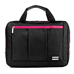 El Prado Collection 3 in 1 Backpack and Messenger Bag for Microsoft Surface Pro 4 12.3 / Pro 3 12 & Surface 3 10.8 inch Tablets (Pink)