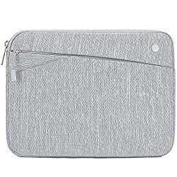 Feacan Shockproof Tablet Sleeve Case for 11 inch New iPad Pro | 10.2 New iPad 2019 | iPad Pro 10.5 inch | 9.7″ New iPad | 10″ Surface Go | iPad Air 2 Bag, fit Apple Pencil Smart Keyboard, Gray