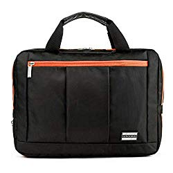 Heavy Duty Stitching 3 in 1 Laptop Messenger Bag for Asus ROG Strix, TUF Gaming, AsusPRO, ZenBook 15, ROG Zephyrus, VivoBook 15, Laptops up to 16 inches (Orange)