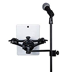 MANOS Universal Tablet Holder with Side Mount – universal microphone mic stand smartphone tablet holder mount