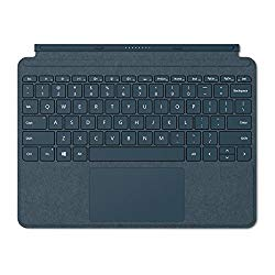 Microsoft Surface Go Alcantara Signature Type Cover, Model 1840 (KCS-00021) Cobalt Blue