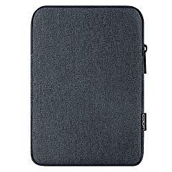 MoKo 11 Inch Tablet Sleeve Case Fits iPad Pro 11 2018, iPad 10.2 2019, iPad Air 3 10.5″, iPad 9.7 6th Generation, iPad Pro 10.5, Galaxy Tab 10.1″ Polyester Bag, Fit Apple Smart Keyboard – Space Gray