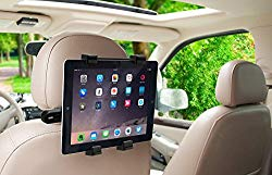 Okra 360 Degree Adjustable Rotating Headrest Car Seat Mount Holder for iPad, Samsung Galaxy,Motorola Xoom, and All Tablets Up to -10.1″