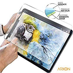 Paperlike iPad Pro 11 Screen Protector, High Touch Sensitivity Anti Glare Scratch Resistant Paperlike Film Compatible with iPad 2018/19 Release/Apple Pencil Compatible (1 Pack, Clear)