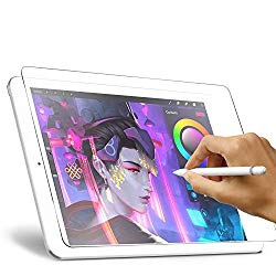 Paperlike Screen Protector for Apple iPad 7 (10.2-Inch, 2019 Model, 7th Gen),XIRON iPad 10.2 Matte PET Paper Texture Film No Glare Scratch Resistant Paper Like Protector,Compatible with Apple Pencil