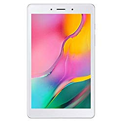 Samsung Galaxy Tab A 8.0″ (2019, WiFi Only) 32GB, 5100mAh Battery, Dual Speaker, SM-T290, International Model (Silver)