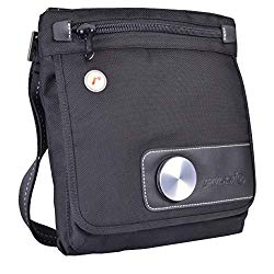 Solo Messenger Bag by Russi Design Works X5 w/Adjustable Shoulder Strap for Android Tablet or iPad (Very Strong & Durable Bag with lots of internal pockets)