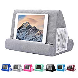 Tablet Pillow Stand for iPad, Phone Pillow Lap Stand, Tablet Stand Pillow Holder, Lap Stand Mobile Phone Holder, Multi Angle Soft Pillow Pad