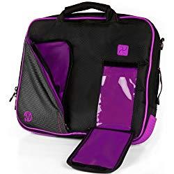 VanGoddy Plum Purple Messenger Bag Suitable for Amazon Fire HD 10