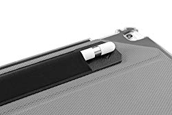 ZUGU CASE Apple Pencil 1 & 2 Holder Sticker – Peel N Stick Elastic Stylus Pocket (Black)