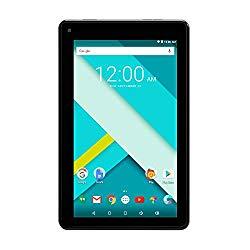 High Performance RCA 7 Inch 1GB RAM 16G Tablet MTK Quad Core Dual Camera Touch IPS Screen 1024 x 600 WiFi Bluetooth Android 7.0 Black (Renewed)